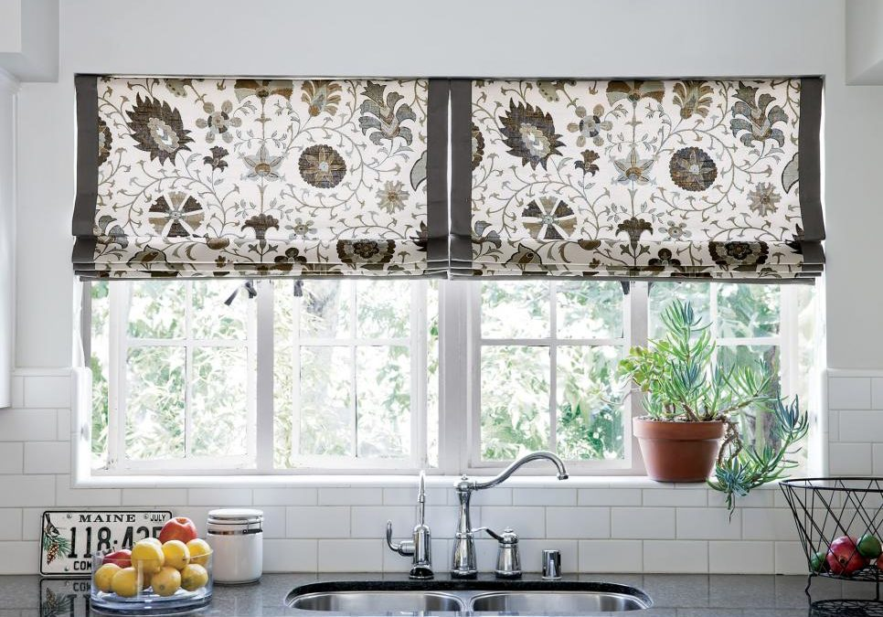 Kitchen Window Coverings: Easy and Affordable Way to Add Interest to the Décor
