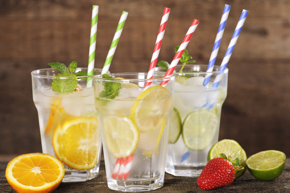 paper straws for drinks