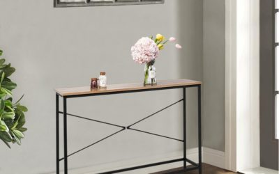 Console Tables: Timeless Vintage Elements for an Eye-Catching Entryway