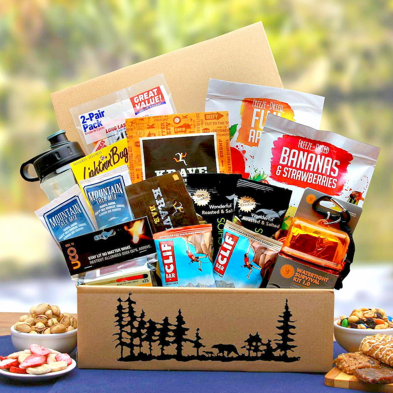 outdoor lovers gift basket father's day