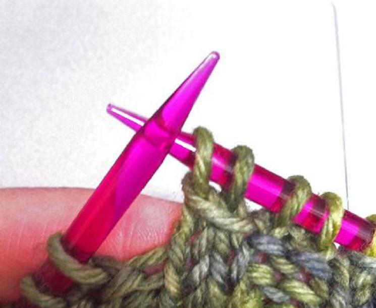plastic Needles knitting