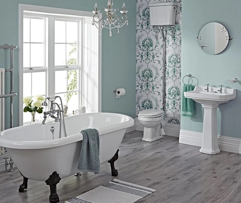 Get the Look: Design Ideas for a Chic Vintage Bathroom