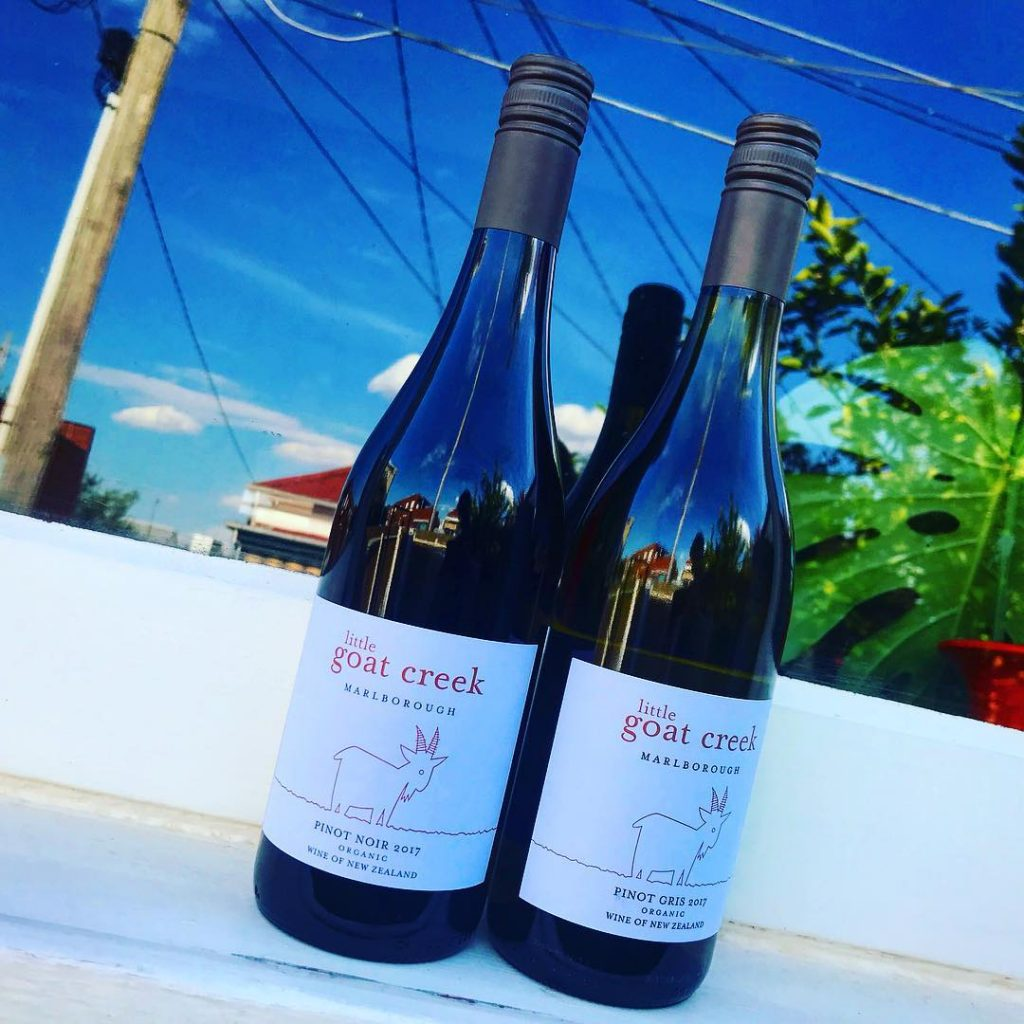 pinot noir by little goat creek