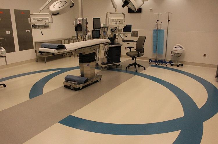 Hospital Flooring operation