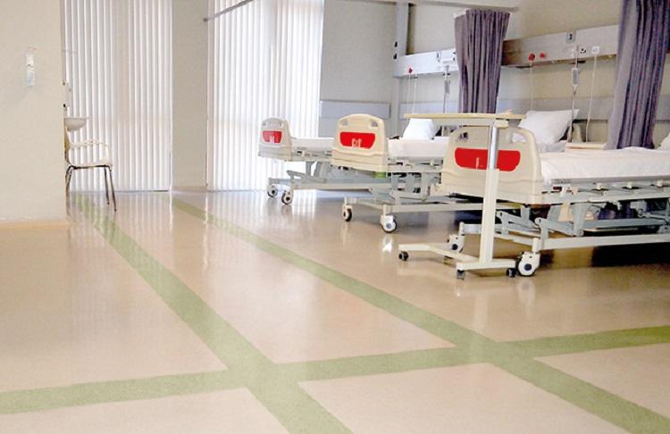 Hospital Room Flooring