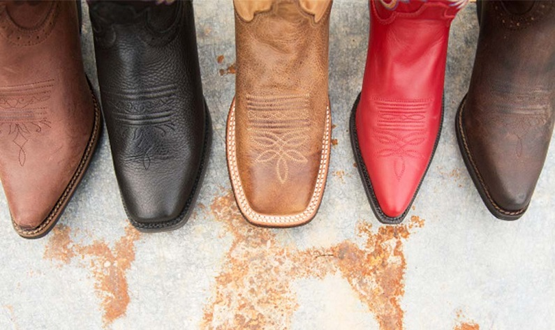 types of western boots