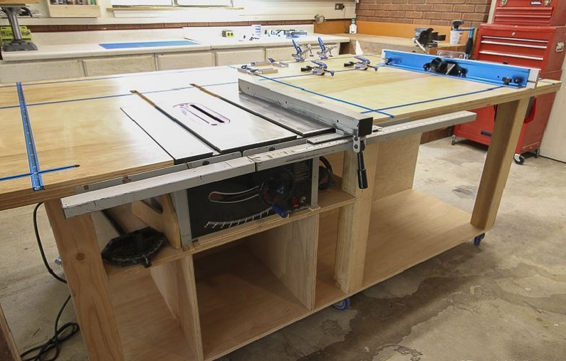 assembling and fitting workbenches