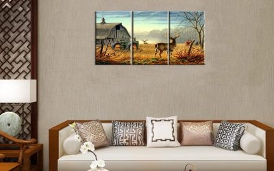 Create Wild Kingdoms and Show Style with Animal Wall Prints