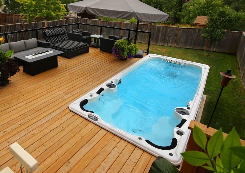 single zone swimming spa