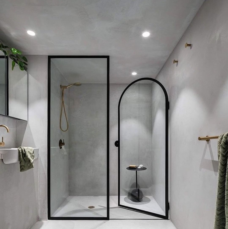 different type of shower screens