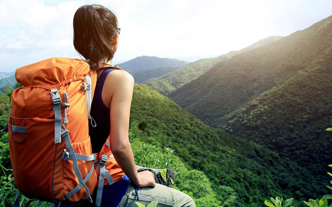 Backpack Full of the Right Hiking Gear